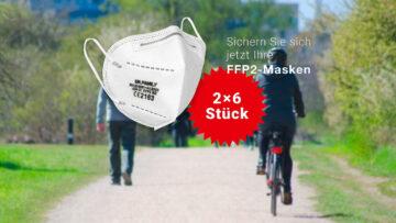 FFP2-Masken kostenlos vorbestellen